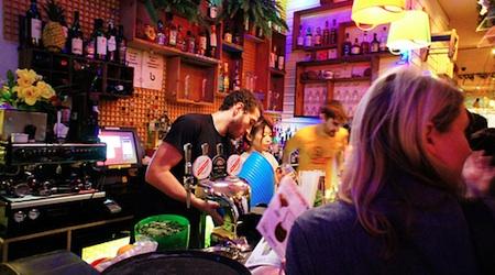 Enjoy the extra-long happy hour in Soho's Barrio Centrale. Photo: Yukino Mayazawa