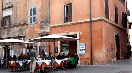 rome 4 kosher restaurants in rome 39 s jewish quarter eurocheapo. Black Bedroom Furniture Sets. Home Design Ideas