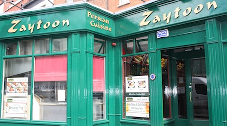 Zaytoon serves up Dublin's tastiest kebab in Temple Bar. Photos by Colm Hanratty