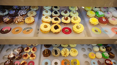 Choose a big one, a small one, or several at Lola's Cupcakes. Photo: