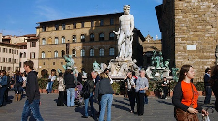 Americans have been drawn to Florence for more than a century. Photo © hidden europe