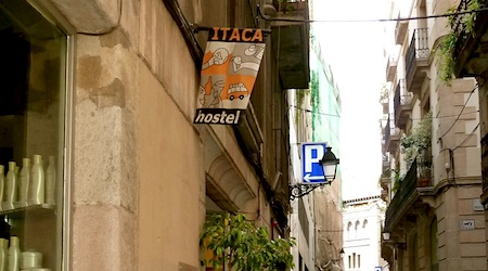 Itaca Hostel -- the most welcoming hostel in Barcelona. Photos by Regina W Bryan