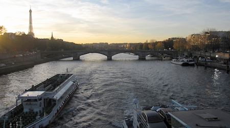 Gazing down the Seine is not to be missed. Photos by Theadora Brack