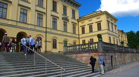 Save on entry to Drottningholm Palace by purchasing a Stockholm Card. Photos by Tom Meyer