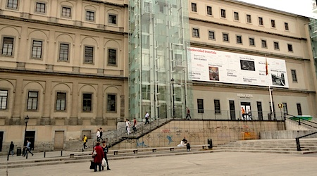 The Reina Sofia is free to all weekdays (7 pm - 9 pm) and weekend afternoons. Photo: T. Meyers