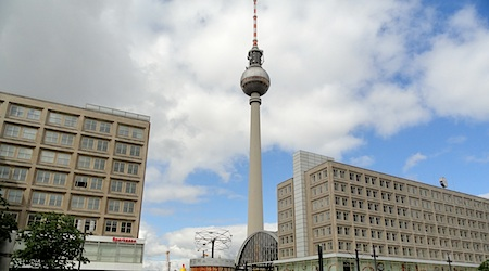 Berlin's Fernsehturm, or TV Tower, offers incredible birds-eye views. Photo: T. Meyers