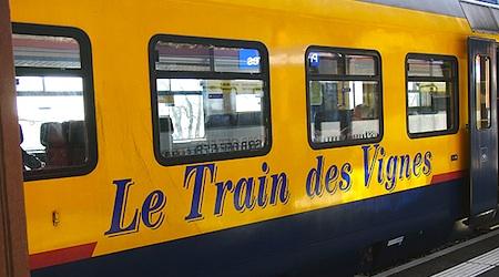 A slow train through the vineyards. Photo © hidden europe magazine