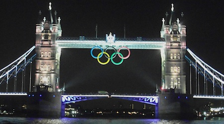 London is a magical place to be during the Olympics. Photos by Nina Derham.