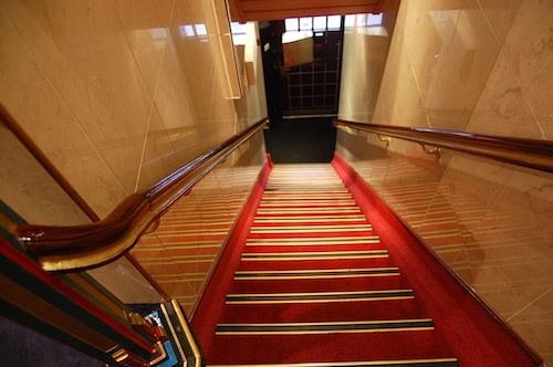 Nadia Hotel stairs