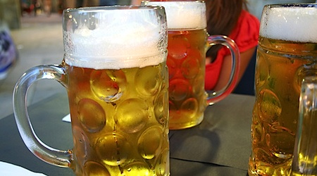Beer is big in Barcelona. Read on for our favorite bars for beer. Photo: Justene.