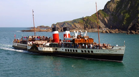 The Waverley near Ilfracombe, North Devon. Photos © hidden europe