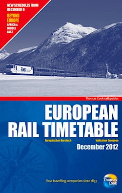Thomas Cook European Rail Timetable