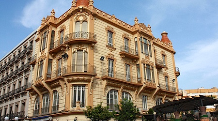 Art Nouveau architecture on display in Melilla. Photo: Fenand0