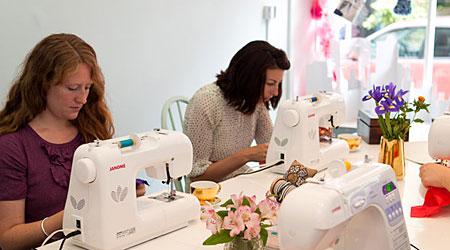 Crafting at Homemade London