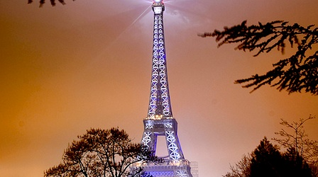 All lit up on New Year's Eve in Paris. But is it a deal? Photo: Waqqas