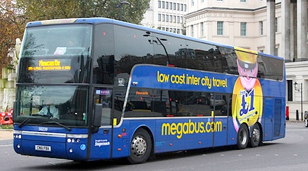 London to Paris on Megabus