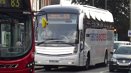 Britain's National Express coach service may be coming soon to Germany. Photo: Ell Brown