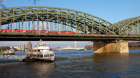Cologne Hohenzollern Bridge