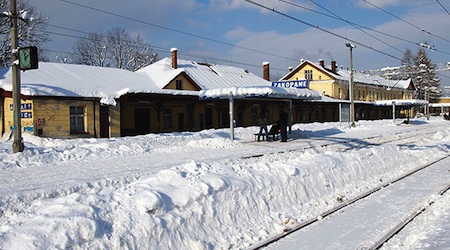 Zakopane Poland train station