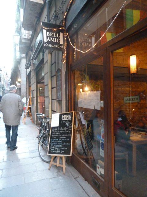 Menu del Dia in Barcelona
