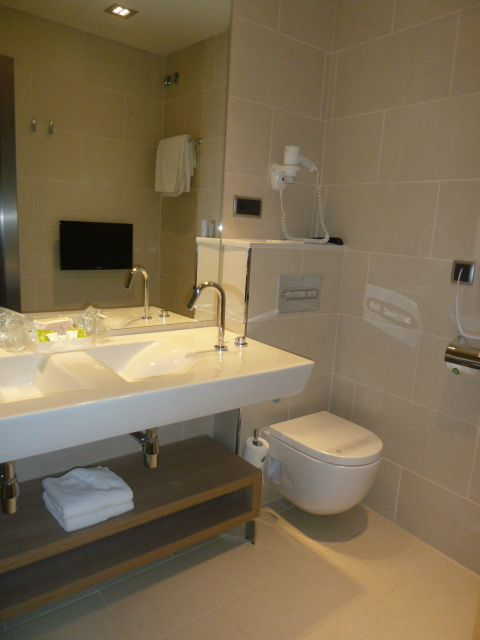 The Quality Of The Hotel Lleou0027s Bathrooms Exceeds That Of The Hotel Itself.