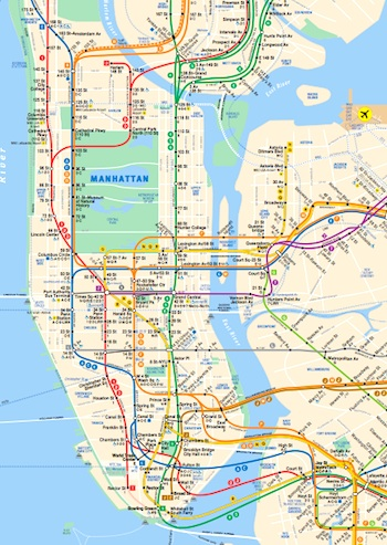 New York Subway Map Pdf