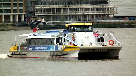 Thames Clipper service