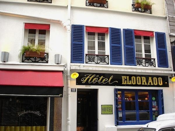 Hotel Eldorado Paris
