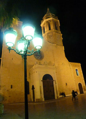 Sitges is a great option for a Spanish beach getaway.