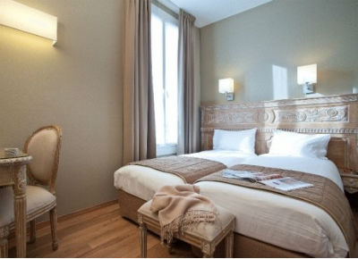 For a property of its quality, the Hotel du Printemps' rates are almost impossible to beat.