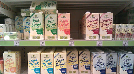 Soy Milk DM Shelves