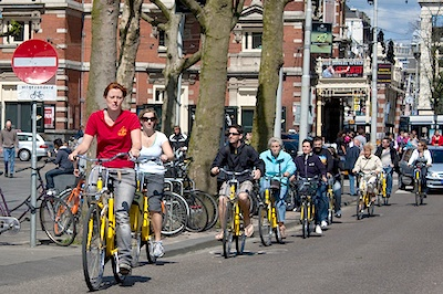 Bike tours in Amsterdam