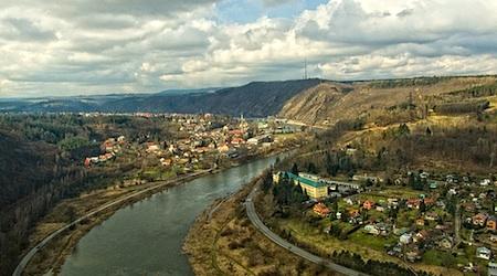 Vltava Valley Czech Republic