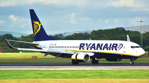 What do the EU's plans mean for RyanAir and small airports? Photo: Pauls imaging.