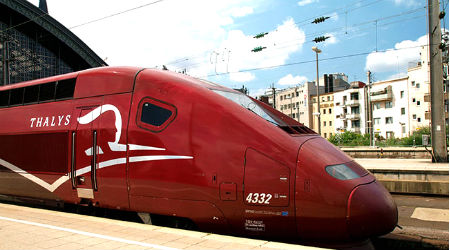 Thalys Train, Cologne