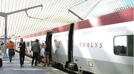 Thalys Train Liege