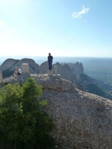 Up on top at Sant Jeroni