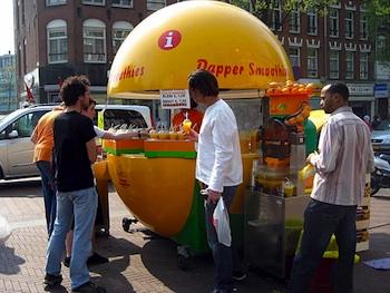 orange juice Amsterdam
