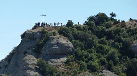 Montserrat, a day-trip from Barcelona. Photos by Regina W Bryan