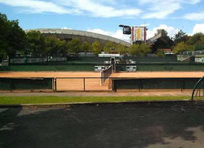Roland Garros Practice Courts