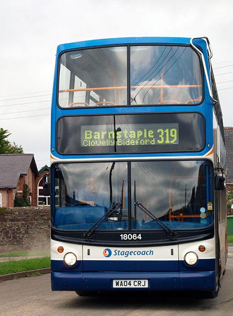 Barnstaple bus