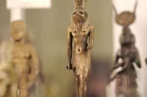 Walk like an Egyptian at the Petrie Museum. Photo: Nics Events