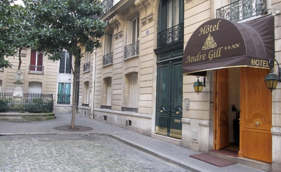 Andre Gill Hotel Paris