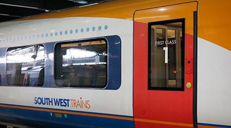 First Class Southwest Train