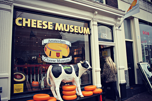 Learn and taste your way through the history of Dutch cheese at this culinary museum. Photo: Meg Marks
