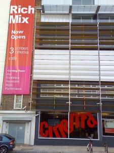 Rich Mix Six cinema. Photo: Frank Boyd