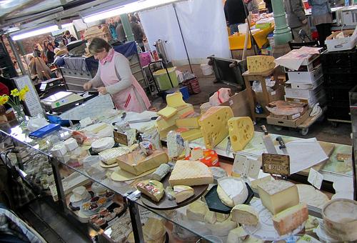 Cheese Market in Paris