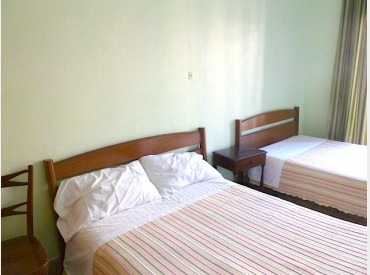 Hostal Noya is a cozy pick that's easy to reach and cheap to boot. Photo: EuroCheapo