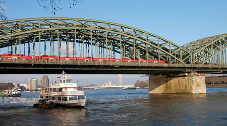 Hohenzollern Brücke Cologne