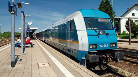 Private rail operator ALEX is an important player on rail routes from Bavaria to Prague. Photo: © hidden europe